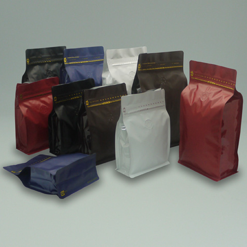 Tea Amp Food Package 1 4 Box Pouch With Pocket Zip Flat